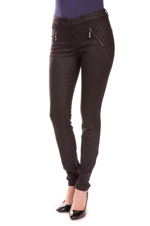 Модные джинсы Tom TailorМодные джинсы<br>Модные джинсы Tom Tailor. Такие брюки – несомненный хит многих коллекций. Обтягивающий фасон, простеганные бока, карманы спереди на молниях – отличительные черты этой модели. Носить их вы сможете с блузами, топами, курточками самого разного кроя. Состав ткани: эластан, хлопок, полиэстер.<br><br>Размер RU: 40<br>Пол: Женский<br>Возраст: Взрослый<br>Материал: эластан 2%, хлопок 58%, полиэстер 40%<br>Цвет: Чёрный