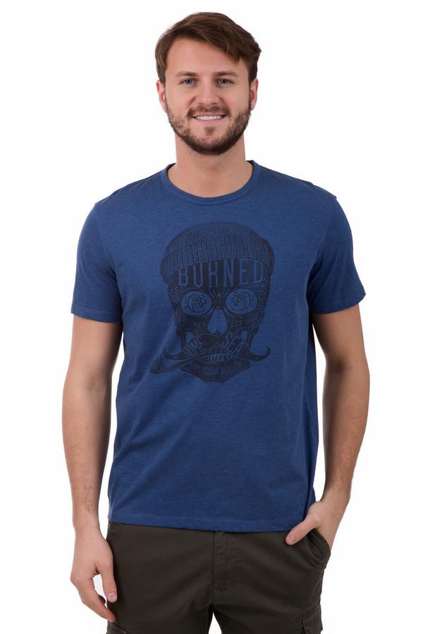 Футболкa Tom TailorФутболки<br>Футболкa Tom Tailor мужская с популярным принтом - черепом. Эта вещь понравится стильным мужчинам, которые любят современную моду и ценят комфорт. Хлопок и полиэстер идеально подойдут для лета. Вы сможете комбинировать данное изделие с различными брюками (лучше неофициальными или нейтральными) и джинсами.<br><br>Размер RU: 48-50<br>Пол: Мужской<br>Возраст: Взрослый<br>Материал: хлопок 60%, полиэстер 40%<br>Цвет: Чёрный