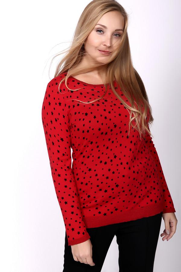 Пуловер OuiПуловеры<br>Ваш звездный час с ярко-красным пуловером OUI в мелкую звездочку. Модель пошита из натурального 100% хлопка. Придает внешнему облику юность и задор. Приталенный, что помогает подчеркнуть все достоинства фигурки его владелицы. Актуален в любое время года. Изделие дополнено декоративными заплатками в виде сердечек на локтях – интересное и небанальное решение для тех, кто любит выделяться.<br><br>Размер RU: 48<br>Пол: Женский<br>Возраст: Взрослый<br>Материал: хлопок 100%<br>Цвет: Чёрный