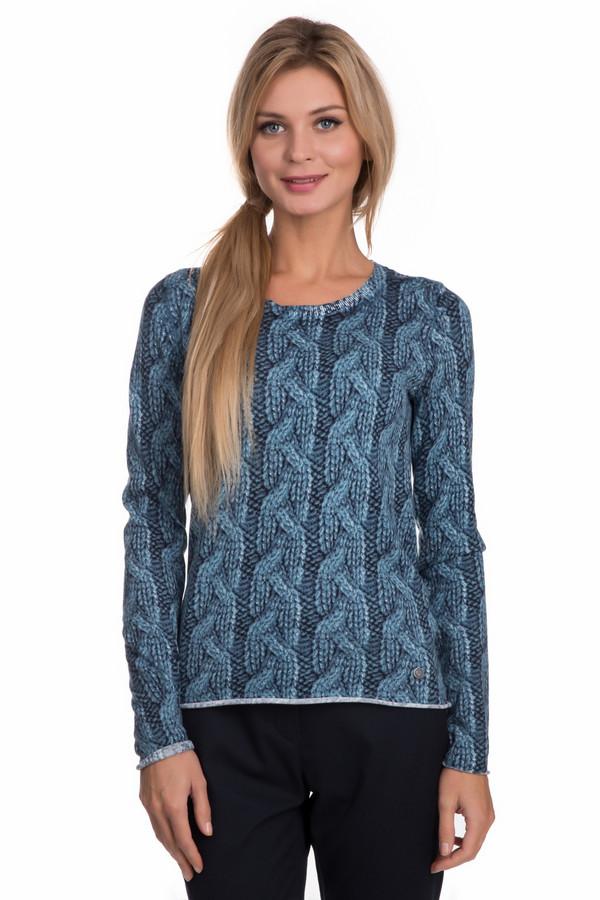 Пуловер LerrosПуловеры<br>Пуловер Lerros черно-синий. Стилизованный узор «косы» - уникальное и нетривиальное решение! В таком пуловере вы точно будете привлекать внимание. Предельно простой крой изделия, ведь основную партию здесь играет узор. Состав ткани: 100%-ный хлопок. Отлично сочетается с брюками, джинсами, юбками самых различных фасонов.<br><br>Размер RU: 46<br>Пол: Женский<br>Возраст: Взрослый<br>Материал: хлопок 100%<br>Цвет: Чёрный