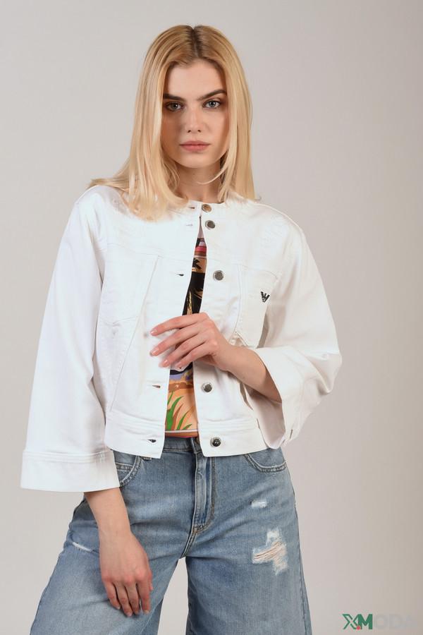 женская куртка emporio armani