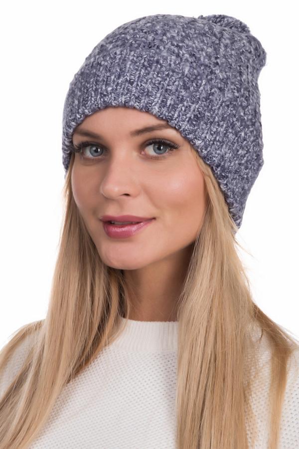 Шапка LerrosШапки<br>Уютная женская шапка Lerros серого цвета. Изготовлена из материалов, включающих полиакрил, хлопок, нейлон. Согреет вас в зимнюю пору. Серый цвет делает изделие универсальным для сочетания с верхней одеждой абсолютно любой расцветки. Модель дополнена помпоном из того же материала, что и сама шапка.<br><br>Размер RU: один размер<br>Пол: Женский<br>Возраст: Взрослый<br>Материал: хлопок 30%, полиакрил 57%, нейлон 13%<br>Цвет: Синий