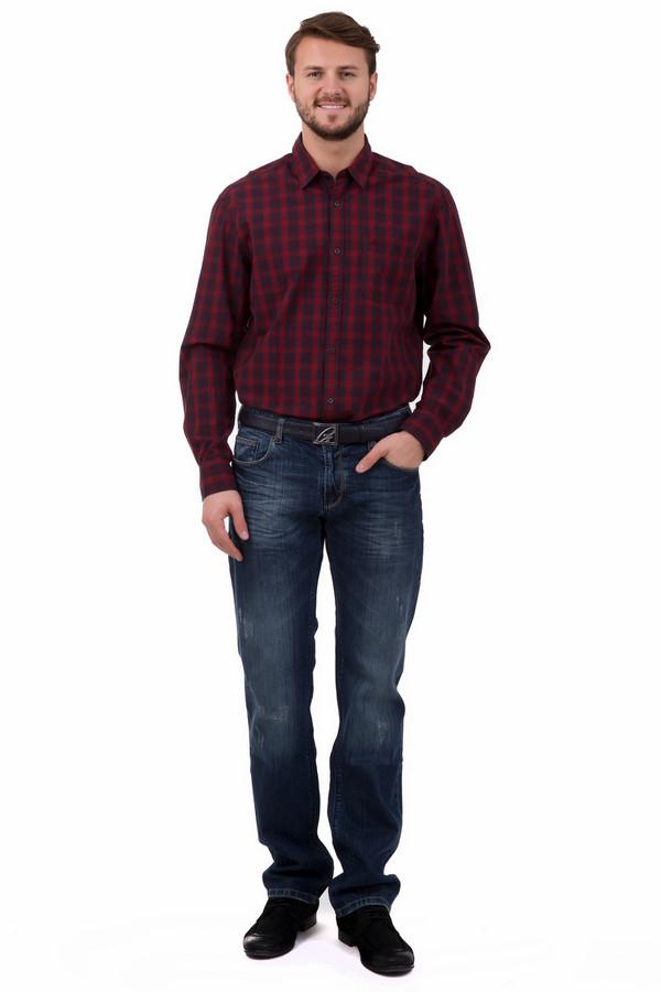 Модные джинсы LocustМодные джинсы<br>Модные мужские джинсы синего цвета с потертостями. Прямой крой выгодно подчеркнет ваш рост. Изделие дополнено задними карманами, есть шлицы под пояс. Ширинка застегивается на молнию. Удобное и стильное изделие, основа гардероба для любого мужчины.<br><br>Размер RU: 52(L34)<br>Пол: Мужской<br>Возраст: Взрослый<br>Материал: хлопок 100%<br>Цвет: Синий