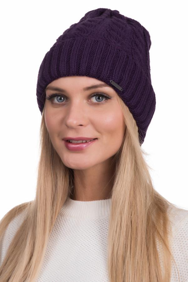 Шапка WegenerШапки<br>Необычная женская шапка Wegener фиолетового цвета. Изготовлена из полиакрила и шерсти. В зимний сезон убережет от холодов, и будет очень удобной. Изделие подойдет не под каждую расцветку верхней одежды, но при верном сочетании будет невероятно стильно смотреться. Особого шика придает имитация спицевой вязки.<br><br>Размер RU: один размер<br>Пол: Женский<br>Возраст: Взрослый<br>Материал: шерсть 30%, полиакрил 70%<br>Цвет: Фиолетовый