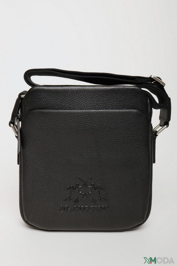 мужская сумка la martina, черная