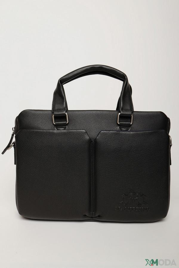 мужской портфель la martina, черный