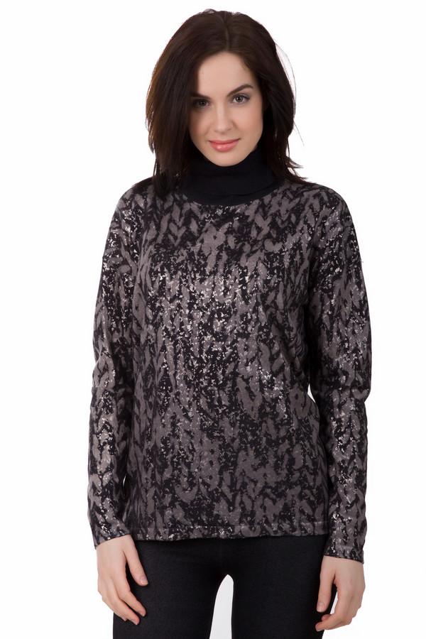 Водолазка Luisa CeranoВодолазки<br>Водолазка Luisa Cerano черно-бежевый. Необычная расцветка этой модели сразу же обращает на себя внимание. С узором изделия отлично гармонирует черный однотонный воротник. В таком пуловере из 100%-ной шерсти вам будет тепло и комфортно зимой или в прохладную погоду весной и осенью. Превосходно комбинируется с джинсами и брюками, а также юбками облегающего фасона.<br><br>Размер RU: 50<br>Пол: Женский<br>Возраст: Взрослый<br>Материал: шерсть 100%<br>Цвет: Бежевый