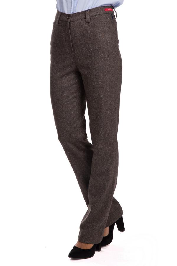 Брюки GardeurБрюки<br>Брюки Gardeur женские. Эта модель необычайно стройнит – в таких брюках вы будете всегда на высоте, будь то офис, или выход на какое-то мероприятие. Ничего лишнего – девиз этой модели. Состав: шерсть, полиэстер, эластан, вискоза, шелк и полиакрил. Зимняя теплая модель. Отлично смотрится с блузами, пиджаками и блейзерами.<br><br>Размер RU: 48<br>Пол: Женский<br>Возраст: Взрослый<br>Материал: шерсть 30%, эластан 1%, полиэстер 17%, вискоза 31%, шелк 5%, полиакрил 16%<br>Цвет: Коричневый