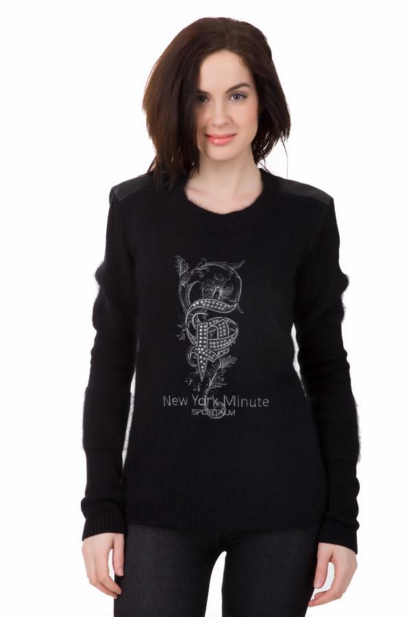 Пуловер SportalmПуловеры<br>Пуловер Sportalm черный. Стильный пуловер с молодежным принтом – маст-хэв женского гардероба. Эта модель отлично подойдет для неформальной встречи или прогулки. Состав: полиамид, вискоза, шерсть. Демисезонная вещь для женщин, которые любят разнообразие и ценят стиль.<br><br>Размер RU: 50<br>Пол: Женский<br>Возраст: Взрослый<br>Материал: полиамид 20%, вискоза 30%, шерсть 50%<br>Цвет: Чёрный