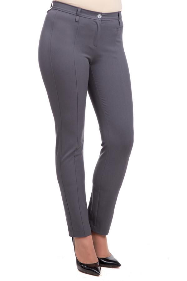 Брюки Frank WalderБрюки<br>Элегантные женские брюки Frank Walder серого цвета. В состав изделия входят эластан, полиэстер и вискоза. Носить такие брюки можно круглогодично. Украшена модель декоративными вертикальными швами. Брюки длиной до щиколотки, прямого кроя. Можно носить как с ремнем, так и без него. Хорошо будет смотреться с блузами, футболками, пуловерами и прочим.<br><br>Размер RU: 48<br>Пол: Женский<br>Возраст: Взрослый<br>Материал: эластан 5%, полиэстер 64%, вискоза 31%<br>Цвет: Серый