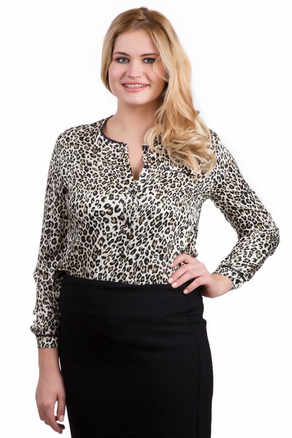 Блузa LebekБлузы<br>Женская блузa Lebek леопардовой расцветки придаст движениям грации и утонченности дикой кошки, и поможет раскрыть истинную женскую натуру. Изготовлена из 100% вискозы. Лучшее время для носки - осень или весна: погодные условия будут идеально ей соответствовать. Отлично будет сочетаться и с джинсами, и с классическими брюками, и с юбками.<br><br>Размер RU: 52<br>Пол: Женский<br>Возраст: Взрослый<br>Материал: вискоза 100%<br>Цвет: Разноцветный