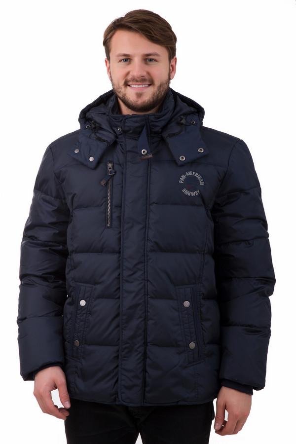 Куртка LerrosКуртки<br>Зимняя мужская куртка Lerros с капюшоном. Универсальная модель классического темно-синего цвета выполнена из 100% нейлона. Теплая подкладка из полиэстера способствует сохранению тепла в морозный день. Застежка на молнию и кнопки, высокий ворот, благодаря чему куртка не пропускает ветер. Качественная фурнитура с фирменным логотипом бренда обратит внимание на Ваш стиль.<br><br>Размер RU: 54-56<br>Пол: Мужской<br>Возраст: Взрослый<br>Материал: нейлон 100%, Состав_подкладка полиэстер 100%<br>Цвет: Синий