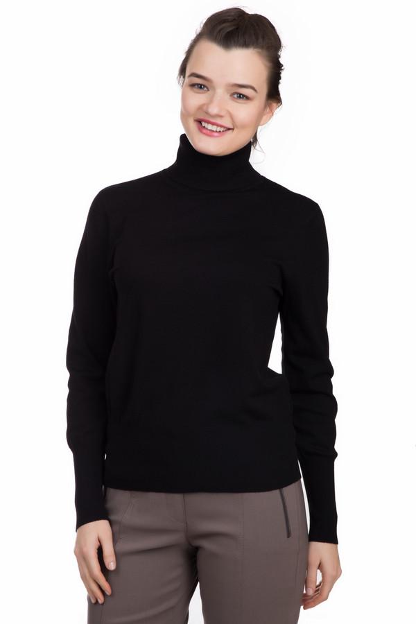 Водолазка Betty BarclayВодолазки<br>Водолазка Betty Barclay черного цвета. Классическая модель, состоящая из вискозы и полиэстера, согреет холодной зимой и станет прекрасным дополнением осенне-весенних образов. Простота силуэта и отсутствие отвлекающих деталей позволяет сочетать водолазку с брюками, джинсами и юбками в различных стилях. Удобная и мягкая, станет незаменимой вещью в гардеробе.<br><br>Размер RU: 46<br>Пол: Женский<br>Возраст: Взрослый<br>Материал: вискоза 77%, полиэстер 23%<br>Цвет: Чёрный