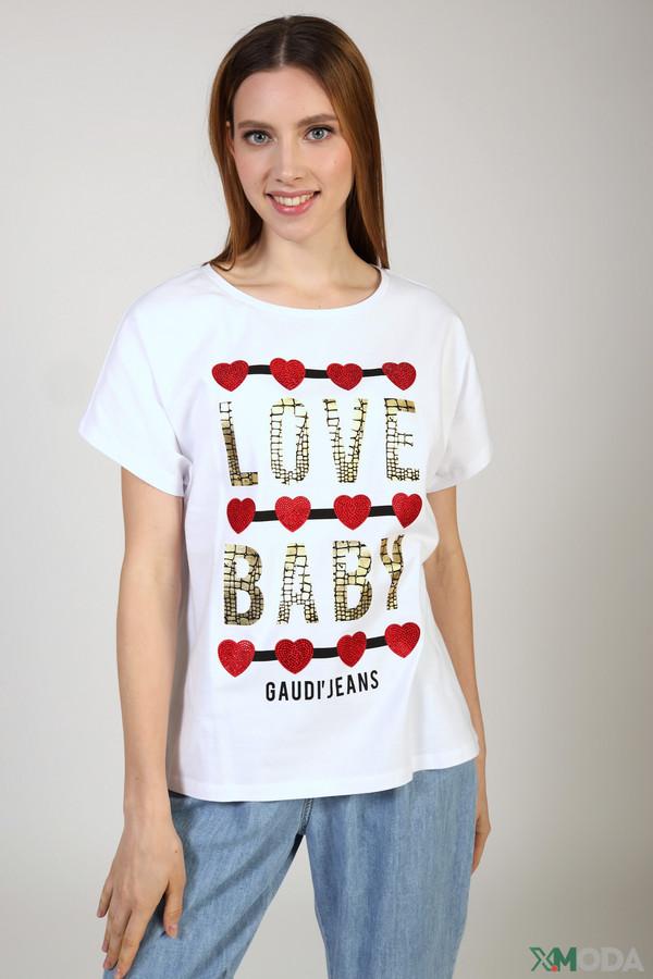женская футболка gaudi