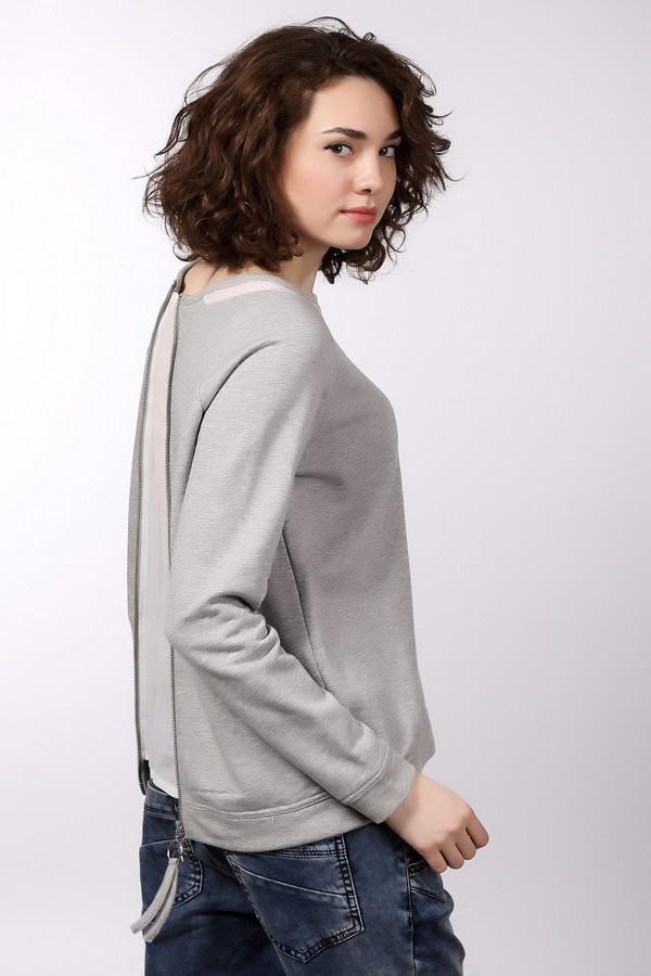 Пуловер s.Oliver DENIMПуловеры<br>Стильный женский пуловер S.Oliver DENIM. Модель серого цвета, на 88% состоит из хлопка. Главный акцент пуловера – оригинальная декоративная молния по всей длине спины, отразит Ваш индивидуальный вкус. В нем будет комфортно в любое время года. Пуловер универсальный по своему стилю, хорошо сочетается с джинсами и вещами спортивного фасона.<br><br>Размер RU: 44-46<br>Пол: Женский<br>Возраст: Взрослый<br>Материал: полиэстер 8%, вискоза 4%, хлопок 88%<br>Цвет: Серый