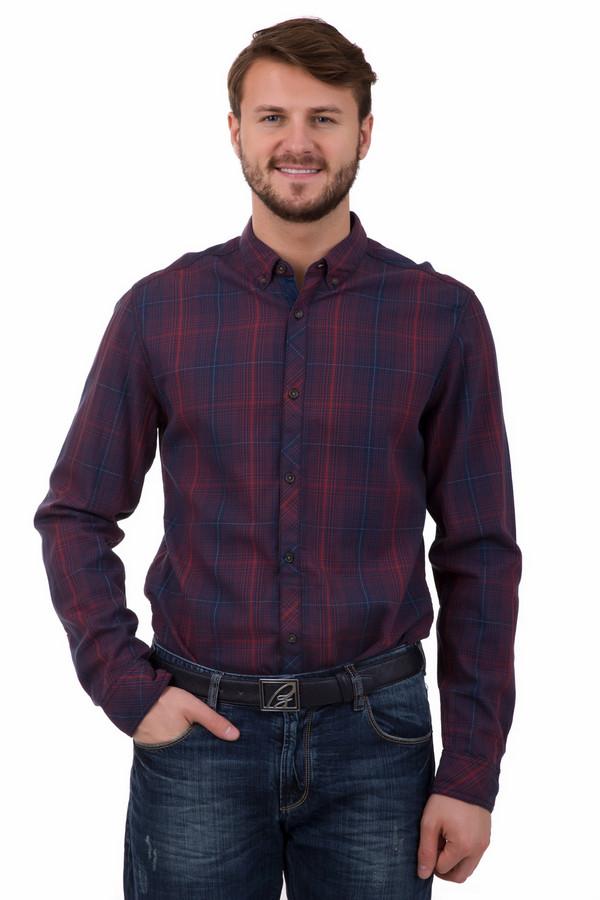 Рубашка с длинным рукавом s.Oliver DENIMДлинный рукав<br>Рубашка с длинным рукавом S.Oliver DENIM из 100% хлопка. Модель, слегка приталенная по силуэту. Благодаря стильному сочетанию цветов и крупной клетке, рубашка станет незаменимым предметом повседневного мужского гардероба. Выигрышно смотрится в ансамбле с джинсами, дополнит Ваш образ в любое время года.<br><br>Размер RU: 44-46<br>Пол: Мужской<br>Возраст: Взрослый<br>Материал: хлопок 100%<br>Цвет: Синий