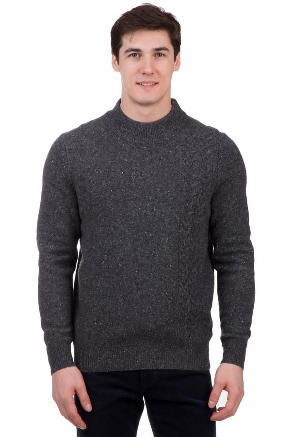 Джемпер PezzoДжемперы<br>Джемпер Pezzo серый. Утепленный вариант, сделан из шерсти мерино. Модель выполнена крупной вязкой, имеет круглую горловину и манжеты. Практичный, подойдет к любому гардеробу. Темно-серый отлично сочетается с другими цветами и оттенками, что позволит комбинировать джемпер с элементами одежды разных стилей.<br><br>Размер RU: 46<br>Пол: Мужской<br>Возраст: Взрослый<br>Материал: полиамид 20%, шерсть мерино 80%<br>Цвет: Серый
