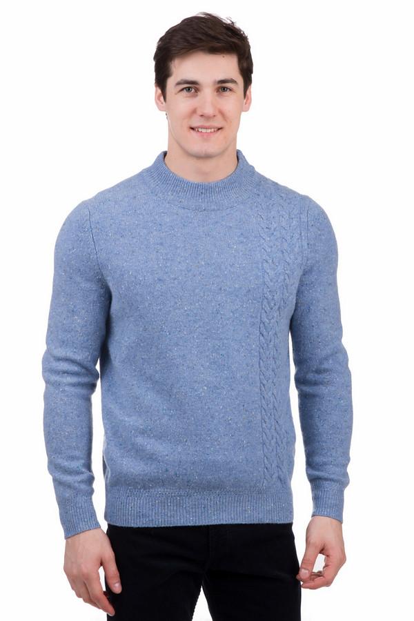 Джемпер PezzoДжемперы<br>Джемпер Pezzo голубого цвета. Теплая, шерстяная, вязаная вещь незаменима в холодное время года. Цветовое решение освежит любой образ. Джемпер имеет круглую горловину и манжеты. Носить его можно как с классическими брюками, так и с джинсами в стиле кэжл. Практичный элемент одежды для ежедневного ношения.<br><br>Размер RU: 56<br>Пол: Мужской<br>Возраст: Взрослый<br>Материал: полиамид 20%, шерсть мерино 80%<br>Цвет: Голубой