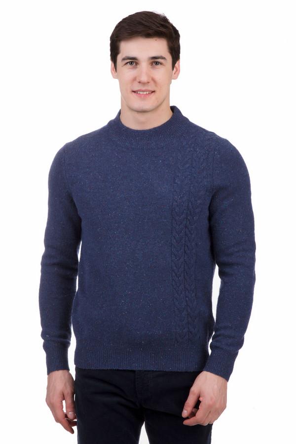 Джемпер PezzoДжемперы<br>Джемпер Pezzo синего цвета. Теплый вязаный элемент одежды отлично впишется в любой образ и выгодно его дополнит. Круглая горловина, крупная вязка и манжеты делают его практичным и удобным. Джемпер – незаменимая вещь в холодное время года. Его можно сочетать как с брюками, так и с джинсами, а синий цвет сделает образ более ярким.<br><br>Размер RU: 56<br>Пол: Мужской<br>Возраст: Взрослый<br>Материал: полиамид 20%, шерсть мерино 80%<br>Цвет: Синий