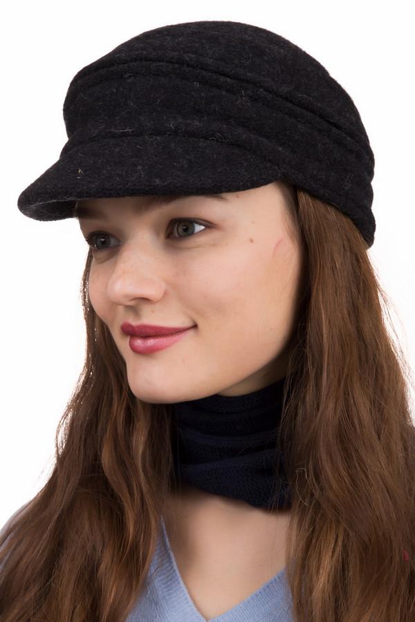 Кепка SeebergerКепки<br>Кепка Seeberger черная. Эта модель может быть в двух вариантах: с верхом или без него. Носить такую кепку – сплошное удовольствие. Сегодня она одна, а завтра – совершенно другая, как сама женская натура. Состав: 100%-ная шерсть, подкладка – полиэстер. Благодаря своим цвету и силуэту кепка великолепно сочетается с верхней одеждой самых разных стилей и оттенков.<br><br>Размер RU: один размер<br>Пол: Женский<br>Возраст: Взрослый<br>Материал: шерсть 100%, Состав_подкладка полиэстер 100%<br>Цвет: Чёрный