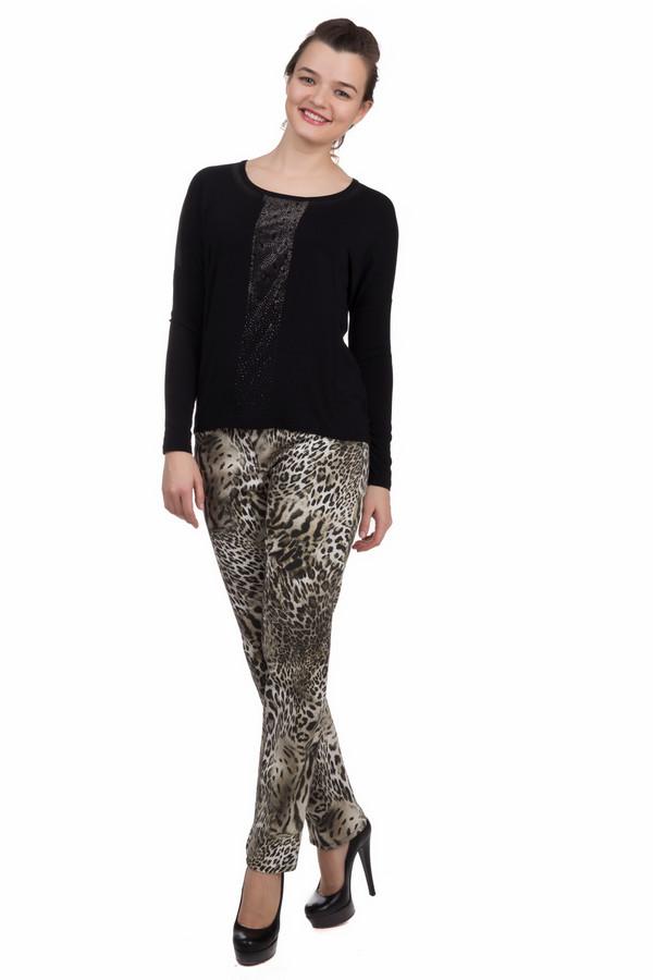 Модные джинсы SteilmannМодные джинсы<br>Модные джинсы Steilmann. Хищная расцветка всегда на пике популярности – такие брюки подчеркнут вашу оригинальность, украсят любой гардероб. Джинсы имеют строгий фасон – и это неудивительно, ведь здесь соло у расцветки. Сочетать такие брюки лучше всего с однотонным верхом. Одинаково гармонично они выглядят с элегантными туфлями и обувью на низком каблуке. Состав: эластан и хлопок.<br><br>Размер RU: 40<br>Пол: Женский<br>Возраст: Взрослый<br>Материал: эластан 3%, хлопок 97%<br>Цвет: Разноцветный