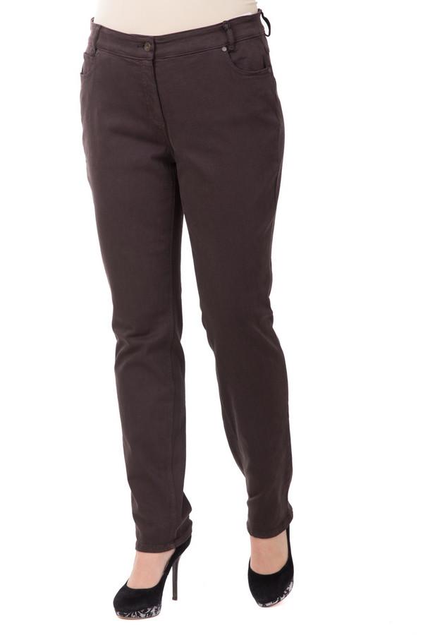Джинсы SteilmannДжинсы<br>Классические джинсы Steilmann. Мягкие и эластичные, станут настоящим помощником в гардеробе. На 92% состоят из хлопка. Имеют удобную посадку и минималистичный декор. Традиционный оттенок ткани позволяет сочетать брюки как с однотонными джемперами, так и с разноцветными элементами одежды в разных стилях.<br><br>Размер RU: 42<br>Пол: Женский<br>Возраст: Взрослый<br>Материал: эластан 2%, хлопок 92%, полиэстер 6%<br>Цвет: Коричневый