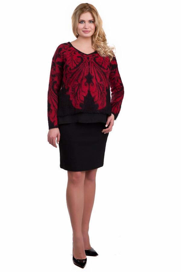 Юбка SteilmannЮбки<br>Классическая юбка черного цвета Steilmann длиной выше колена. На 26% состоит из шерсти, благодаря чему вызывает ощущения тепла и мягкости. Идеальный вариант для делового гардероба, благодаря минималистичному внешнему виду. Крой не сковывает движения, делает модель удобной в повседневной носке.<br><br>Размер RU: 52<br>Пол: Женский<br>Возраст: Взрослый<br>Материал: полиэстер 50%, шерсть 26%, вискоза 24%<br>Цвет: Чёрный