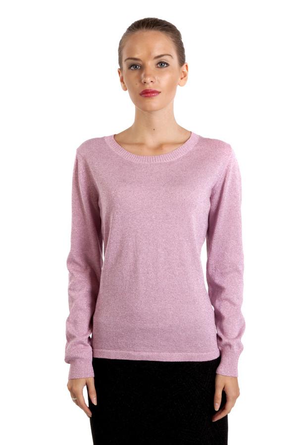 Пуловер Via AppiaПуловеры<br>Пуловер Via Appia изготовлен по сдержанному крою, идеально подойдет для гардероба офисных работников. Пуловер нежно-розового цвета с изящной горловиной. Отсутствуют стразы, надписи и рисунки. Произведен из смеси хлопка и полиэстра. Замечательно комбинируется, как с классической  юбкой , так и с  брюками .<br><br>Размер RU: 44<br>Пол: Женский<br>Возраст: Взрослый<br>Материал: полиэстер 16%, хлопок 75%, металл 9%<br>Цвет: Розовый