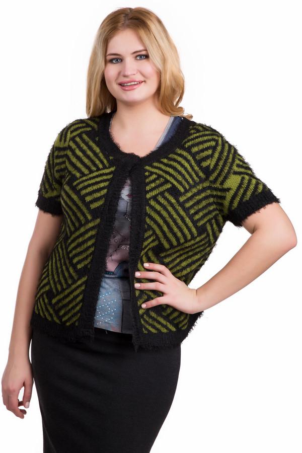 Жакет SteilmannЖакеты<br>Жакет Steilmann серо-зеленый. Модель застегивается сверху на одну пуговицу и открывает блузу или топ, которые находятся под ней. Графический узор и пряжа с ворсом гарантируют элегантный и нетривиальный вид данного изделия. Комбинируется с вещами, подходящими по цветовой гамме. Состав: полиамид, полиэстер, ацетат.<br><br>Размер RU: 46<br>Пол: Женский<br>Возраст: Взрослый<br>Материал: полиамид 40%, полиэстер 10%, ацетат 50%<br>Цвет: Зелёный