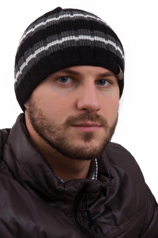 Шапка GottmannШапки<br>Шапка Gottmann мужская. Модель в горизонтальную полоску освежит и оживит любой образ. Зимой в таком изделии вам будет тепло и комфортно. Шапочка связана резинкой, благодаря чему великолепно держит форму и не растягивается. Состав: полиакрил плюс шерсть. Шапочку можно носить с куртками и пальто, отлично смотрится она с вещами как в спортивном, так и в нейтральном стиле.<br><br>Размер RU: один размер<br>Пол: Мужской<br>Возраст: Взрослый<br>Материал: шерсть 30%, полиакрил 70%<br>Цвет: Разноцветный