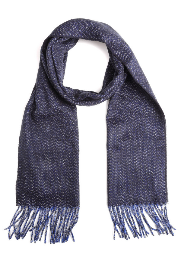 Шарф LerrosШарфы<br>Шарф Lerros мужской синий. Эта модель привлекает своей красивой тканью – фасон при этом предельно прост. Бахрома средней длины дополняет этот шарф и делает его еще более красивым. Состав: 100%-ный полиакрил. Демисезонное изделие. Отлично выглядит с верхней одеждой разных цветов. Особенно хорошо будет смотреться этот аксессуар с благородными пальто, а также джинсами в синих тонах.<br><br>Размер RU: один размер<br>Пол: Мужской<br>Возраст: Взрослый<br>Материал: полиакрил 100%<br>Цвет: Синий
