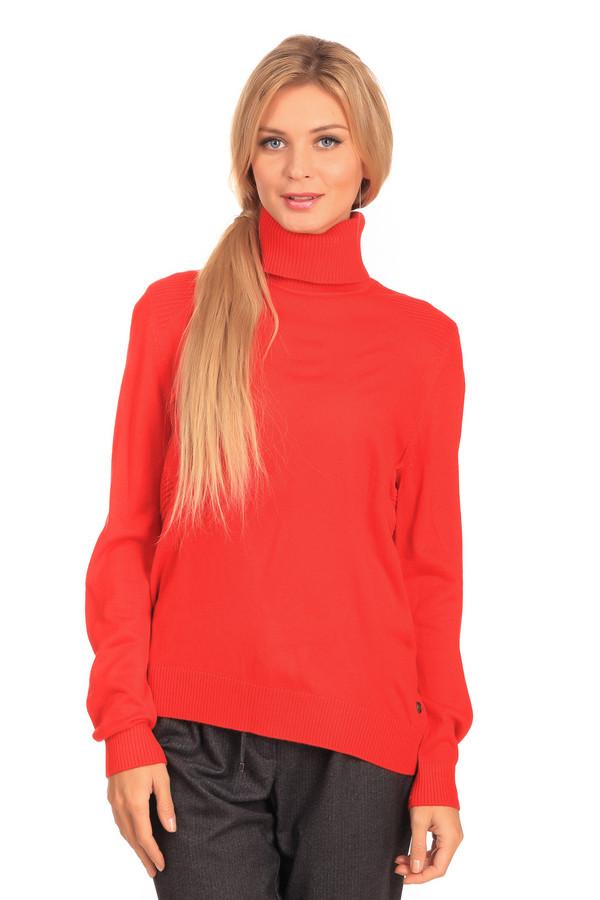 Водолазка Tom TailorВодолазки<br>Водолазка Tom Tailor красная. Отличная модель для тех, кто любит свободу и комфорт. Яркий цвет, резинка на плечах лифа, воротник-стойка – это характерные черты данной водолазки. Состав: 100%-ный полиакрил. Идеальная вещь для зимы, которую можно сочетать с приталенными брюками и юбками.<br><br>Размер RU: 40-42<br>Пол: Женский<br>Возраст: Взрослый<br>Материал: полиакрил 100%<br>Цвет: Красный