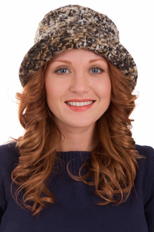 Шляпа WegenerШляпы<br>Шляпа Wegener женская. Мягкий силуэт этой модели великолепно обрамляет ваше лицо! Сочетание серого, белого и оранжевого цвета смотрится очень выигрышно. Шляпка снабжена вставкой из однотонной коричневой ткани по своему периметру. Состав: шерсть, полиэстер, полиамид, мохер. Прекрасно сочетается эта модель с пальто различного кроя.<br><br>Размер RU: один размер<br>Пол: Женский<br>Возраст: Взрослый<br>Материал: шерсть 55%, полиэстер 24%, полиамид 9%, мохер 12%<br>Цвет: Разноцветный