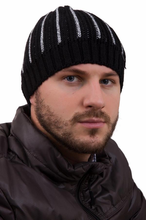 Шапка WegenerШапки<br>Шапка Wegener черно-серая мужская. Восхитительная модель мужской шапочки с вертикальными полосами, сходящимися к ее центру выглядит просто безупречно – в таком головном уборе вы будете чувствовать себя не только комфортно, но еще и в тепле благодаря шерсти и полиамиду в составе изделия.<br><br>Размер RU: один размер<br>Пол: Мужской<br>Возраст: Взрослый<br>Материал: шерсть 30%, полиамид 70%<br>Цвет: Серый