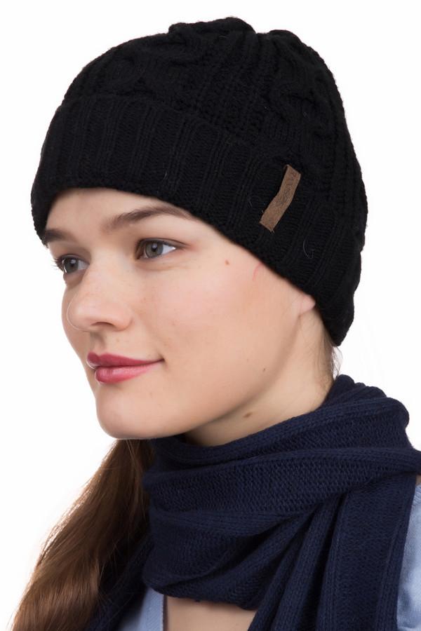 Шапка WegenerШапки<br>Шапка Wegener черная. Практичная и функциональная шапочка с отворотом – вещь поистине удобная и универсальная. Отворот этой вещи обеспечит комфорт в носке и тепло. Состав: 100%-ный полиамид. Демисезонное изделие. Отлично комбинируется с различными шарфами и прочими аксессуарами.<br><br>Размер RU: один размер<br>Пол: Женский<br>Возраст: Взрослый<br>Материал: полиамид 100%<br>Цвет: Чёрный