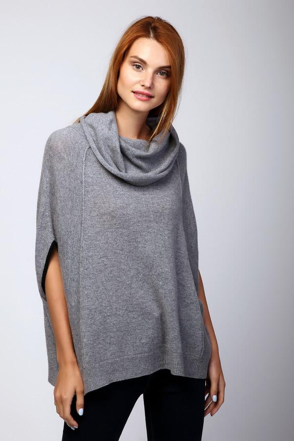 Пуловер Steffen SchrautПуловеры<br><br><br>Размер RU: 42<br>Пол: Женский<br>Возраст: Взрослый<br>Материал: кашемир 100%<br>Цвет: Серый
