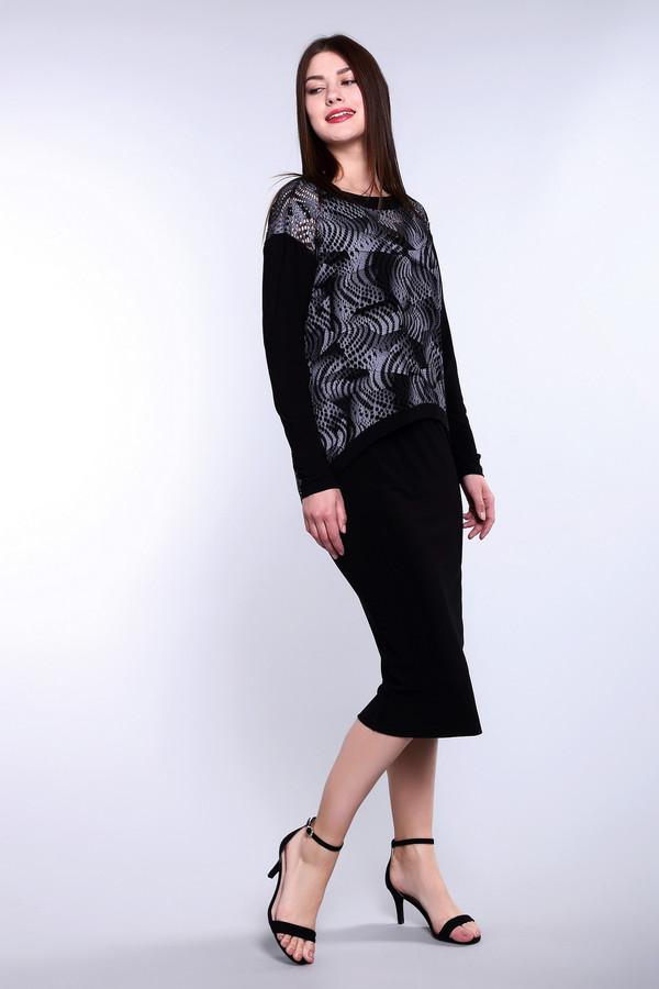Длинное платье Joseph RibkoffДлинные платья<br>Длинное платье Joseph Ribkoff двойное. Черный и серый – идеальные партнеры. Если вам требуется создать стильный и просто роскошный образ, то это правильный выбор. Асимметричный ажурный верх сразу же придает всему ансамблю свежести и неординарности, рекомендуем носить это платье с обувью на высоком каблуке – в таком наряде вы будете просто неотразимы! Состав: полиамид и спандекс.<br><br>Размер RU: 46<br>Пол: Женский<br>Возраст: Взрослый<br>Материал: полиамид 92%, спандекс 8%<br>Цвет: Серый