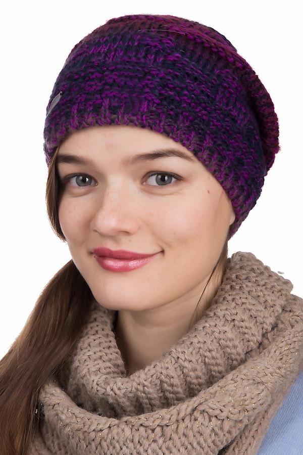 Шапка SeebergerШапки<br>Шапка Seeberger фиолетово-черная. Необычная пряжа этого головного убора и изящный рисунок по ней, несомненно, очень хороши. В этой шапочке вам захочется дефилировать почаще. Состав: полиэстер, полиакрил. Отличное решение для зимних холодов и осенней слякоти. Чудесно комбинируется с куртками и пальто всевозможных фасонов.<br><br>Размер RU: один размер<br>Пол: Женский<br>Возраст: Взрослый<br>Материал: полиэстер 2%, полиакрил 98%<br>Цвет: Чёрный