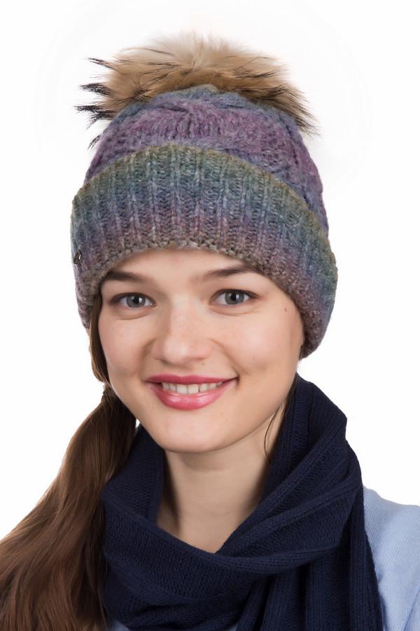 Шапка SeebergerШапки<br>Шапка Seeberger разноцветная. Буйство красок (серый, желтый, голубой, сиреневый цвета) – примечательная черта этой шапочки. Кроме того, очарования ей добавляет помпон их коричневого меха с игривыми черными кончиками. Состав: кашемир, полиамид, полиакрил, альпака. Отличный комби-партнер для верхней одежды разных фасонов.<br><br>Размер RU: один размер<br>Пол: Женский<br>Возраст: Взрослый<br>Материал: полиамид 22%, полиакрил 25%, кашемир 30%, альпака 23%<br>Цвет: Разноцветный