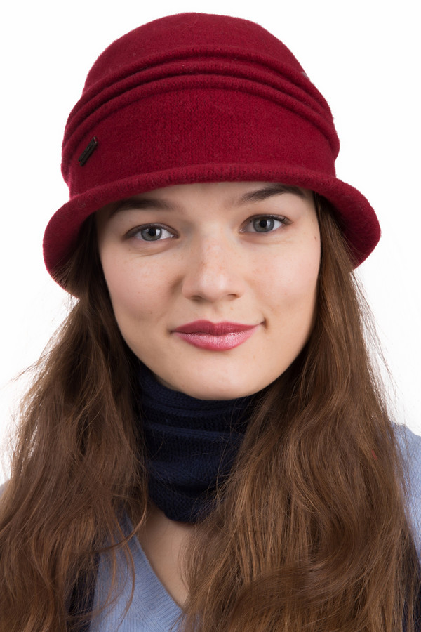 Шляпа SeebergerШляпы<br>Шляпа Seeberger бордовая. Прекрасная модель для женщин, которые любят классику. В этой бордовой шляпке вы всегда будете выглядеть изысканно и модно. Состав:100%-ная шерсть, поэтому даже в холодную погоду вы будете чувствовать себя комфортно. Простота и лаконичность данной модели сделают ваш образ элегантным.<br><br>Размер RU: один размер<br>Пол: Женский<br>Возраст: Взрослый<br>Материал: шерсть 100%<br>Цвет: Бордовый