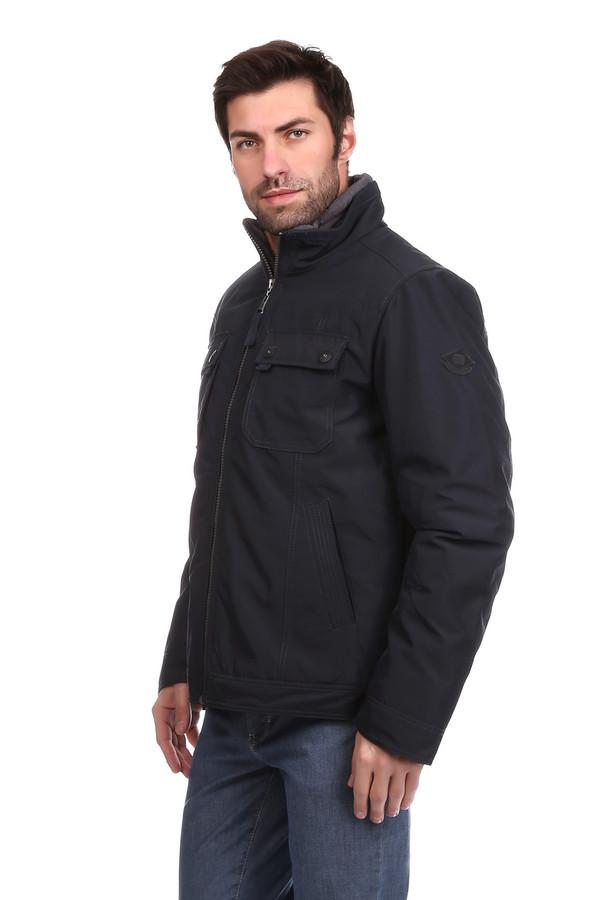 Куртка s.OliverКуртки<br>Куртка s.Oliver черная. Стильная куртка с декорированными накладными и прорезными карманами – отличное решение для мужчины. Спереди изделие застегивается на молнию. Воротник-стойка великолепно защищает от ветра и непогоды. Ткань – 100%-ный полиэстер. Интересен крой рукавов с вытачками и строчка на карманах.<br><br>Размер RU: 44-46<br>Пол: Мужской<br>Возраст: Взрослый<br>Материал: полиэстер 100%<br>Цвет: Чёрный
