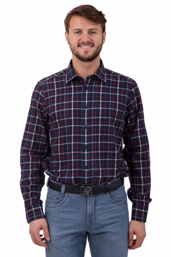 Рубашка с длинным рукавом Casa ModaДлинный рукав<br>Рубашка с длинным рукавом Casa Moda мужская. Отличное решение для мужского гардероба - изделие в клетку, такие вещи неизменно пользуются огромной популярностью, ведь они элегантны и практичны. Избранные цвета к тому же делают сорочку немаркой и удобной в носке. Состав: 100%-ный хлопок. Чудесно выглядит рубашка под джинсы и под более строгие брюки для офиса.<br><br>Размер RU: 39-40<br>Пол: Мужской<br>Возраст: Взрослый<br>Материал: хлопок 100%<br>Цвет: Разноцветный