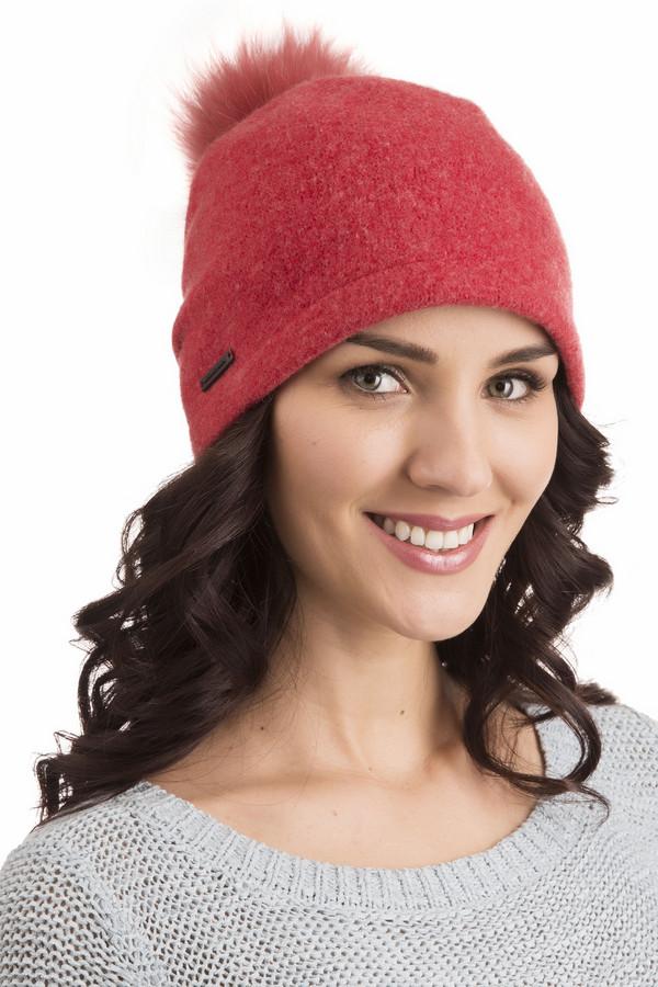 Шапка SeebergerШапки<br>Шапка Seeberger красная. Приятный глазу коралловый оттенок идет женщинам и девушкам вне зависимости от их возраста. Милый помпон добавляет изделию очарования. Демисезонная шапочка из шерсти не даст вам почувствовать холод, поэтому такой выбор будет более чем верным. Отлично подойдет эта модель к самым разным шарфикам и другим аксессуарам. Носите ее под пальто, куртки и полушубки.<br><br>Размер RU: один размер<br>Пол: Женский<br>Возраст: Взрослый<br>Материал: шерсть 100%<br>Цвет: Красный