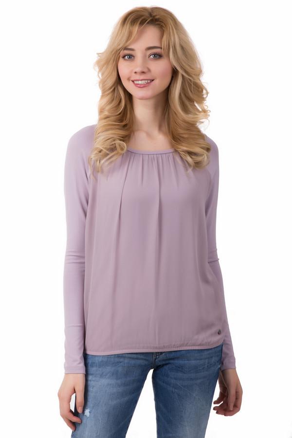 Блузa LerrosБлузы<br>Блузa Lerros розовая. Присборенная ткань на груди очень украшает данное изделие – оно смотрится очень мило и гармонично. Ее свободный фасон не сковывает движений и очень комфортен для повседневной носки. Состав: эластан и вискоза. Чудесно дополнит эта блуза разные ансамбли: как с джинсами, так и с романтичными юбками из легких тканей.<br><br>Размер RU: 46<br>Пол: Женский<br>Возраст: Взрослый<br>Материал: эластан 8%, вискоза 92%<br>Цвет: Розовый