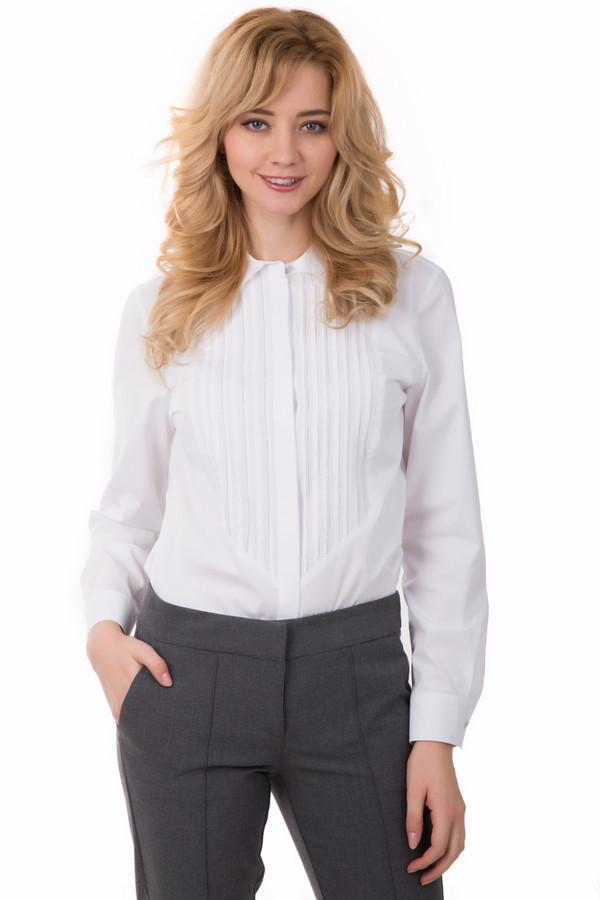 Блузa ErfoБлузы<br>Блузa Erfo белая. Белый цвет всегда ассоциируется с романтикой, молодостью. Данная модель блузы придаст вашему образу именно такую нотку. Блуза прекрасно подойдет для женщин любого возраста. Очень красиво и эффектно смотрится полочка блузы с отделкой из страз и необычным кроем. Можно носить с узкими брюками. Состав: хлопок, полиэстер.<br><br>Размер RU: 52<br>Пол: Женский<br>Возраст: Взрослый<br>Материал: хлопок 97%, полиэстер 3%<br>Цвет: Белый