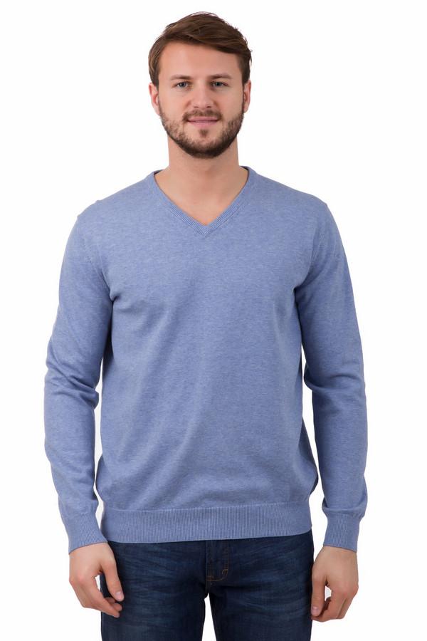 Джемпер Just ValeriДжемперы<br>Пуловер Just Valeri мужской синий. Отличный оттенок для мужчины вне зависимости от возраста. Такой цвет всегда освежает и придает своему обладателю шарма. Треугольный вырез горловины красиво приоткрывает мужскую грудь. Пуловер хорошо идет под джинсы и под более строгие брюки для офиса. 100%-ный хлопок будет очень комфортен для своего обладателя в любое время года.<br><br>Размер RU: 48<br>Пол: Мужской<br>Возраст: Взрослый<br>Материал: хлопок 100%<br>Цвет: Синий