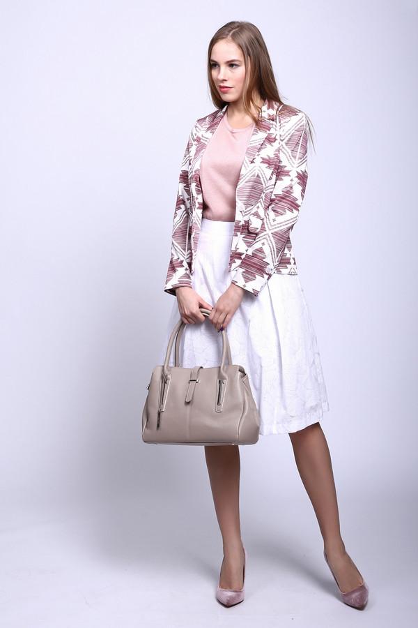 Юбка PezzoЮбки<br>Длинная белая юбка Pezzo - отличный выбор для любой женщины. Юбка-полусолнце, длиной до колена, подчеркивает красоту и изящность ног. Модель дополнена широким поясом, на белом фоне - едва заметный очень бледный узор с флористическим мотивом. Изготовлена эта модель из хлопка и полиэстера. Наиболее комфортно в такой юбке будет летом.<br><br>Размер RU: 44<br>Пол: Женский<br>Возраст: Взрослый<br>Материал: полиэстер 45%, хлопок 55%<br>Цвет: Белый