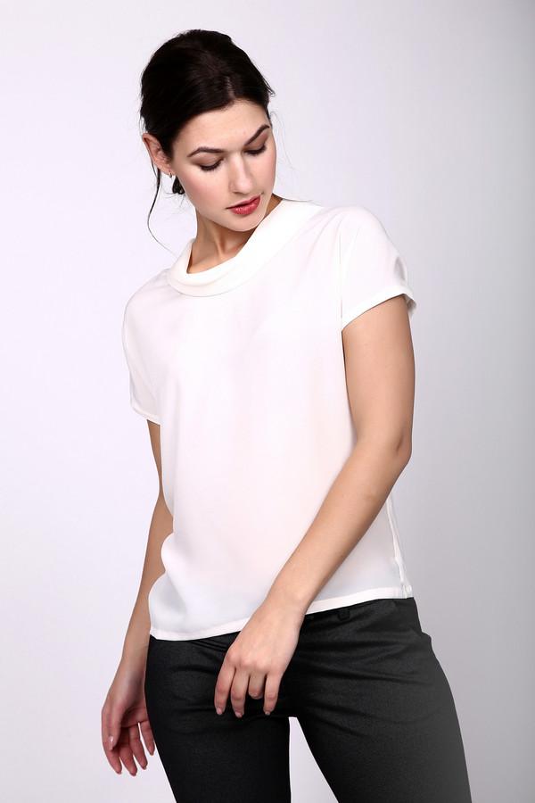 Топ PezzoТопы<br>Женственный белый топ Pezzo, с коротким рукавом и не приталенный. Дополнен воротником типа хомут, который придает шарма всей модели. Будет отлично сочетаться как с разнообразными джинсами и брюками, так с юбками. Изготовлена модель из полиэстера, спандекса и вискозы. Летом он будет наиболее удобен в носке.