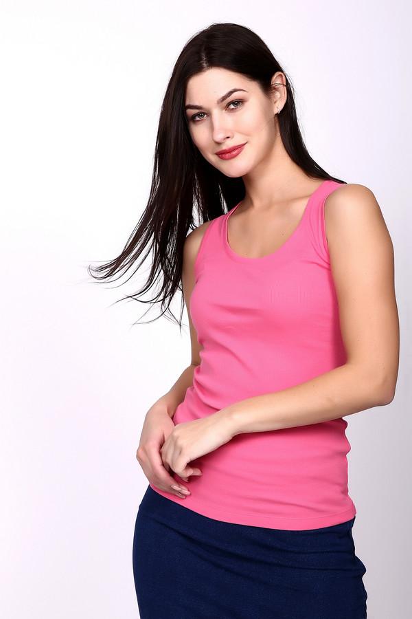 Купить Топ Just Valeri, Китай, Розовый, хлопок 95%, спандекс 5%