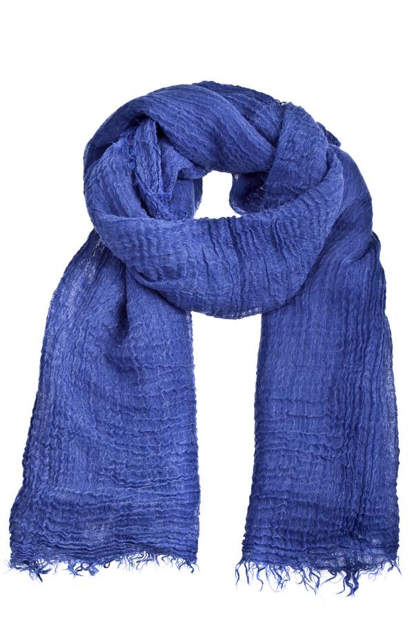 Шарф CodelloШарфы<br>Потрясающий женский шарф Codello ярко синего цвета. Изделие выполнено из высококачественного материала приятного на ощупь. Идеально будет смотреться с  перчатками Roeckl<br><br>Размер RU: один размер<br>Пол: Женский<br>Возраст: Взрослый<br>Материал: полиамид 15%, вискоза 25%, полиакрил 60%<br>Цвет: Синий